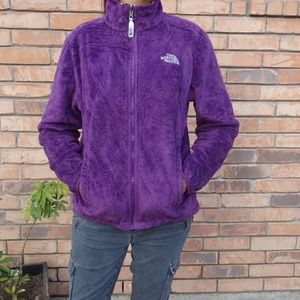 Women's The North Face Purple Osito Jacket M